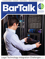 BarTalk | December 2010