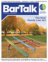 BarTalk | December 2012