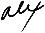 Alex Shorten signature